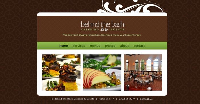 behind the bash modern website design
